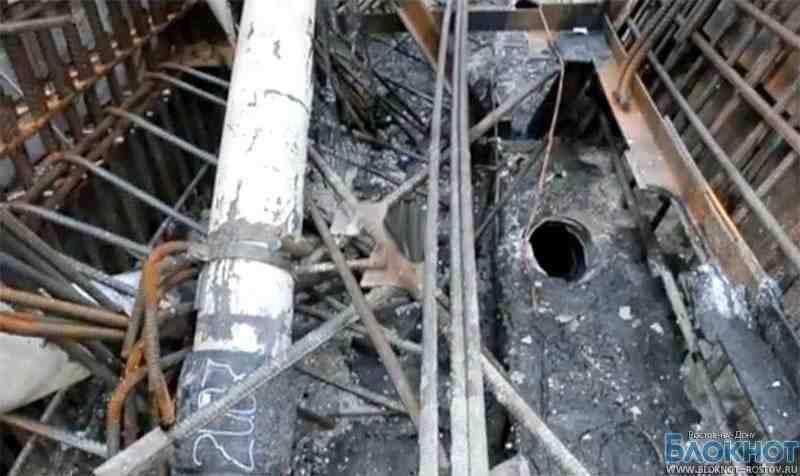 Первое видео с места пожара на Ростовской АЭС