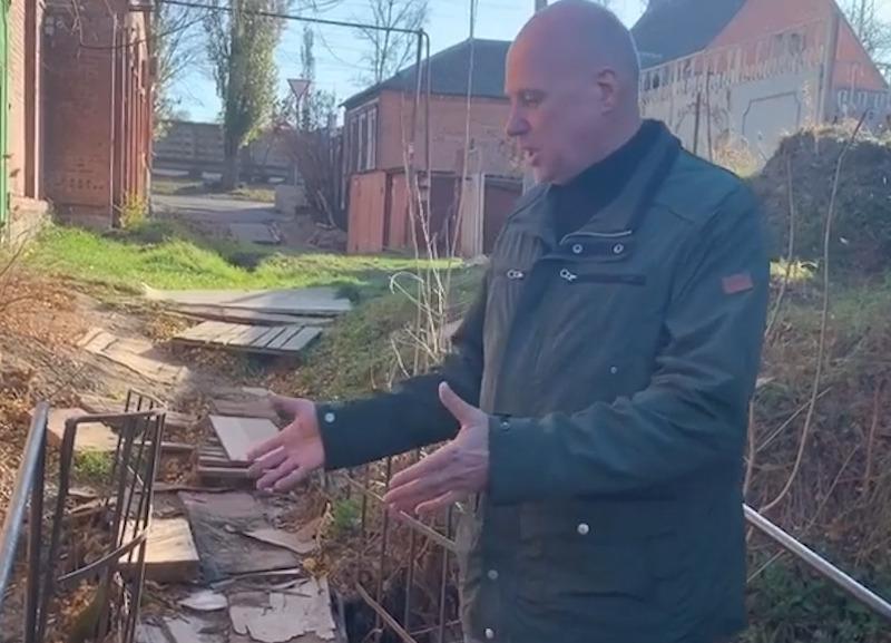«Если не можете отремонтировать мостик, то как вы управляете районом?»: ростовчанин обратился к чиновникам