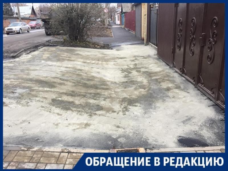 «Новый асфальт у моего дома можно смести метлой!», - жительница Ростова-на-Дону