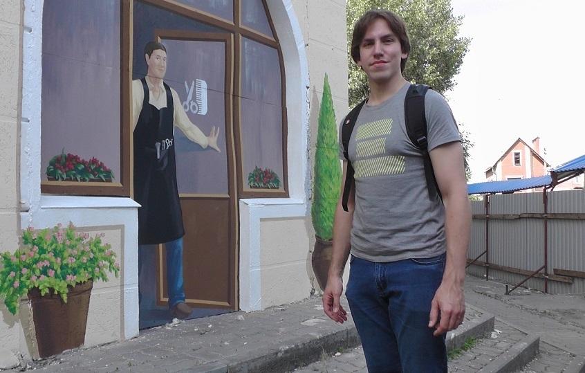Автор ростовского «разрисованного дома»: «Обидно, что люди не видят хорошее!»