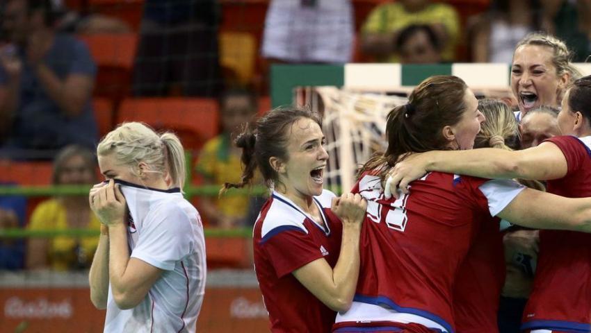 Русские  гандболистки вышли вфинал Олимпийских игр