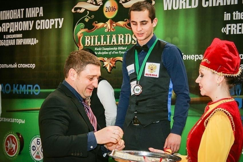 Ростовчанин завоевал бронзу чемпионата мира побильярду