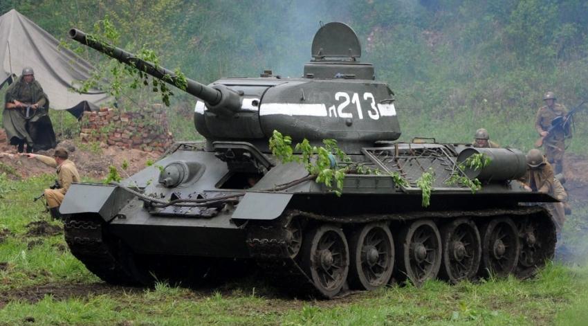 Поднятый содна реки «Т-34» установят наплощади Химиков вРостове