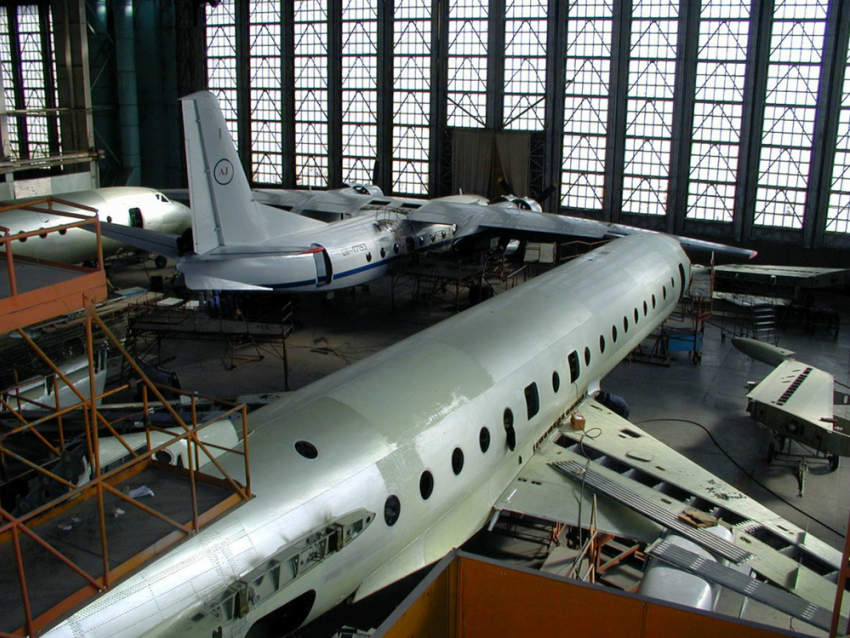 Ростовский авиаремонтный завод несможет чинить самолеты из-за переезда аэропорта