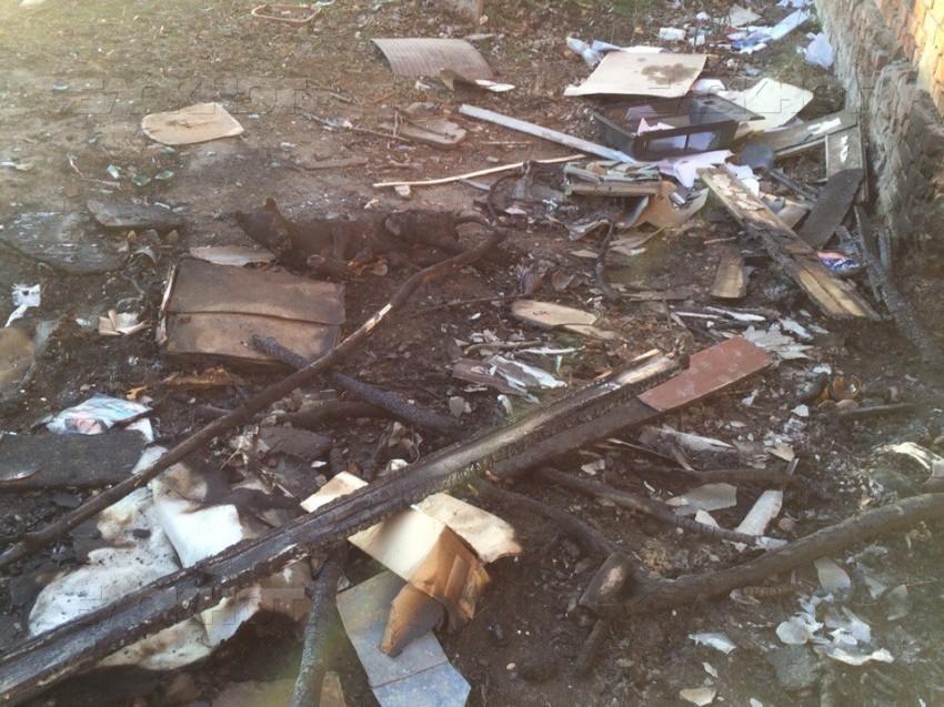 Живодеры заживо сожгли собаку в Ростовской области
