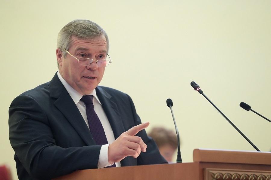 Василий Голубев поздравил жителей Ростовской области с Новым 2019 годом