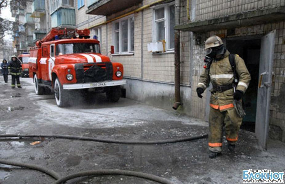В Ростове мужчина, рискуя жизнью, спас из горящей квартиры 6-летнего ребенка