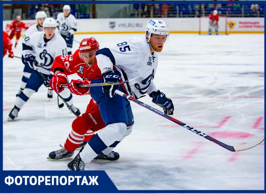 ХК«Ростов» дал бой одному изфаворитов ВХЛ