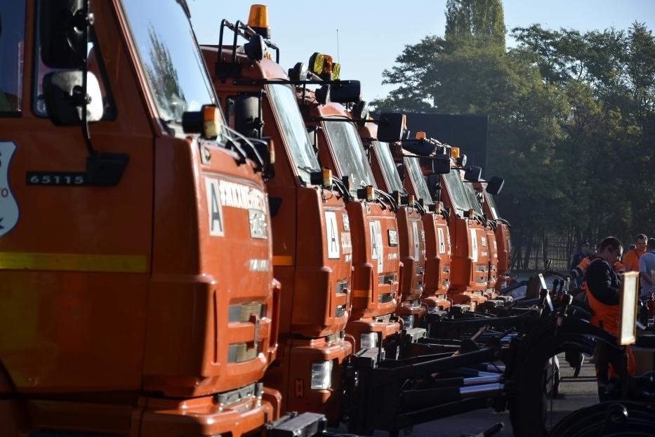 ВРостовской области натехнику для уборки улиц потратят 353 миллиона рублей