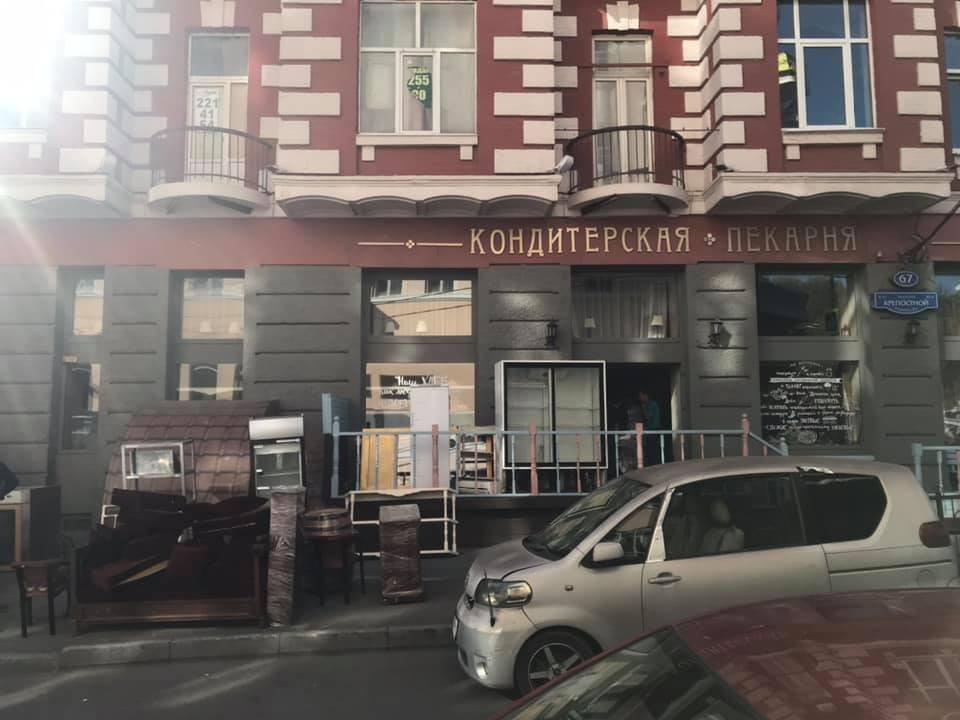 «Пироги Кучкова» покинули здание на Большой Садовой