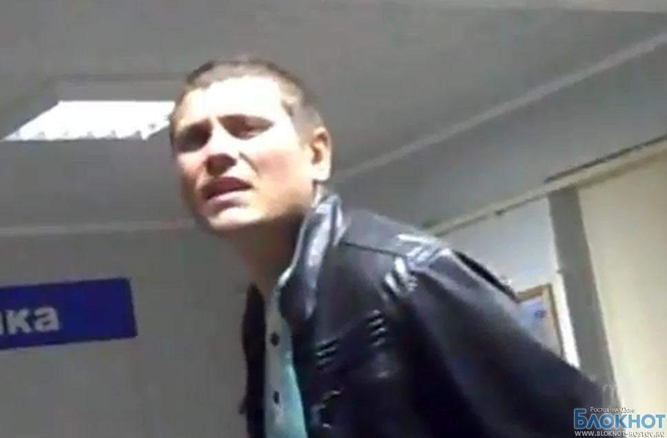 Житель Волгодонска  на камеру обматерил сотрудников ГИБДД