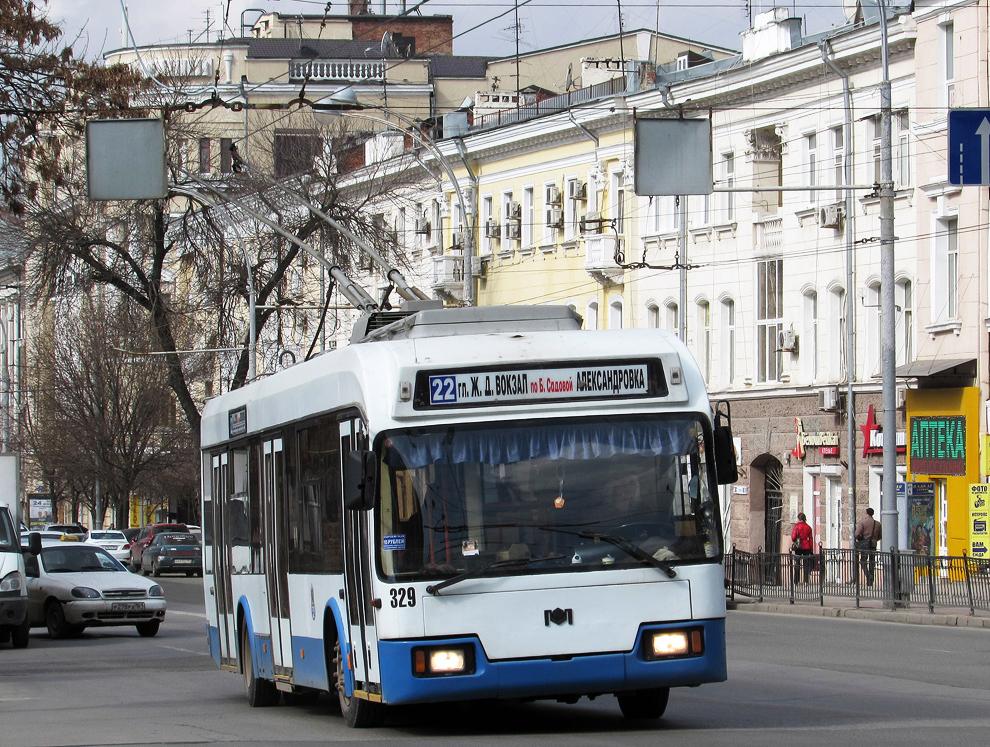 Ростову не хватило денег на троллейбусы в 2018 году
