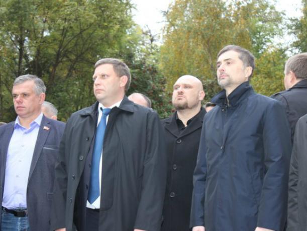Помощник президента Сурков и глава ДНР Захарченко открыли памятник в Ростове
