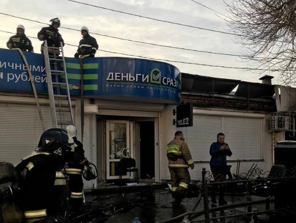 Страшный пожар на центральном рынке оставил без «хачапури» жителей Ростовской области