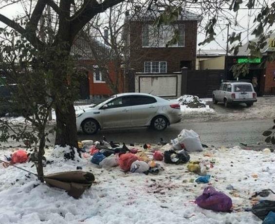 Уставшая терпеть мусорную свалку под своими окнами ростовчанка пристыдила нерадивых соседей