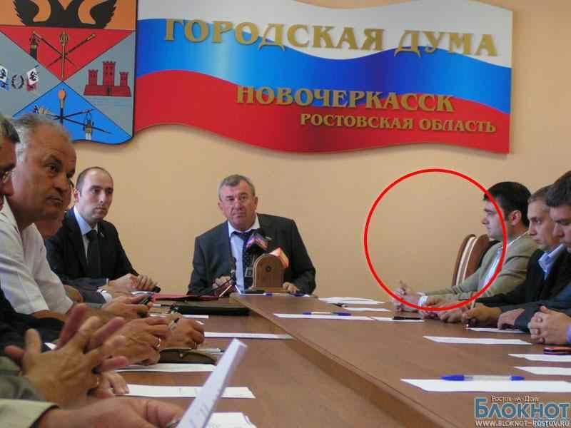 Мэр Новочеркасска в очередной раз не отчитался перед Думой