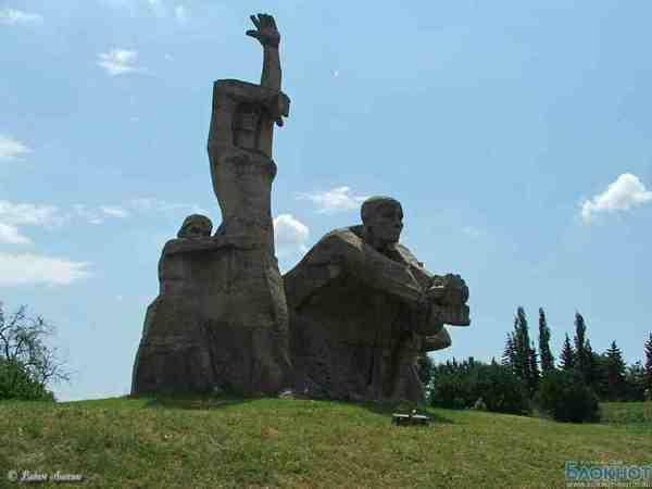 В Ростове-на-Дону изменят текст на мемориальной доске, установленной в Змиевской балке