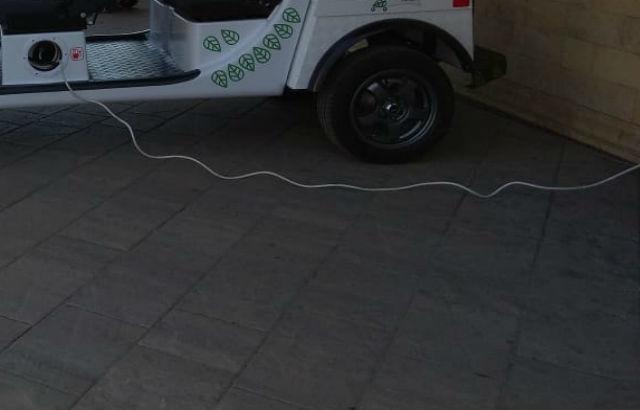 Электрокар-такси запустили в Ростове к чемпионату мира