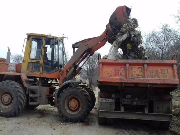 Власти Ростова уничтожили грандиозную свалку на территории бывшего санатория