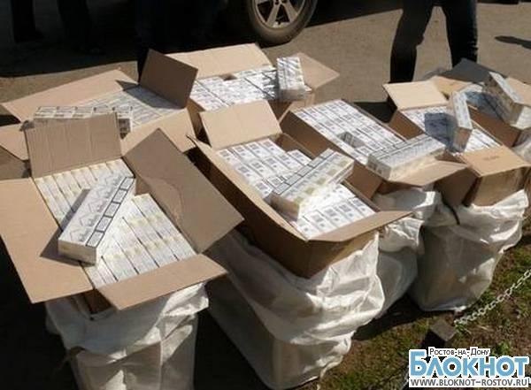 В Ростовской области задержали контрафактные сигареты на 6 млн рублей. ВИДЕО