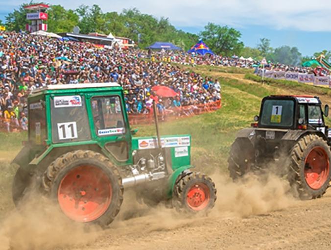 Самого быстрого тракторного гонщика России определят в Ростове