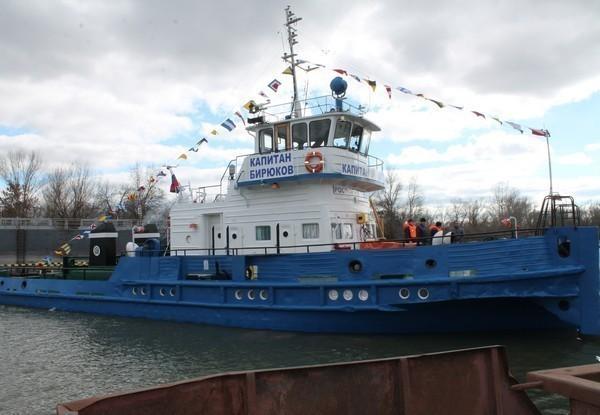 В Ростовской области теплоход «Утес» переименовали в честь капитана Бирюкова