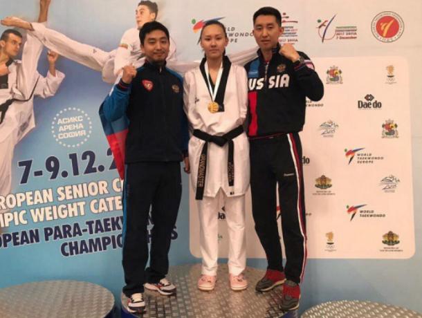 Историческое золото чемпионата Европы по  тхэквондо завоевала ростовчанка