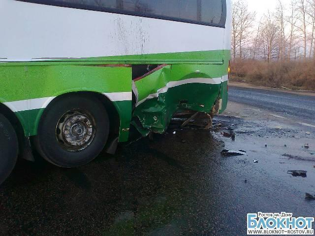 В Тульской области автобус из Ростова попал в ДТП