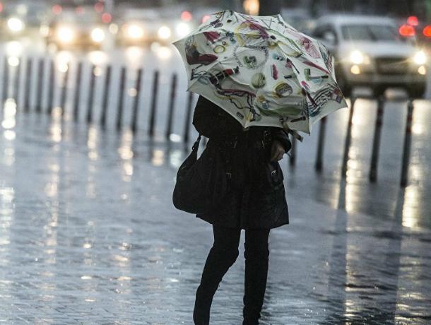 Ливневые дожди обрушатся на жителей Ростова в эту среду