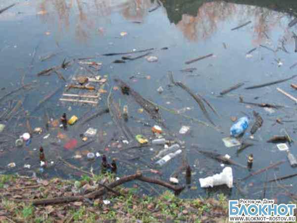 Большинство водоемов Ростова-на-Дону сильно загрязнено