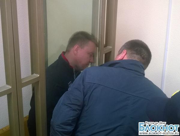 Первое видео из зала суда с задержанным замначальника ГИБДД Александром Оцимиком