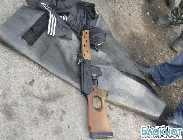 В Ростовской области задержали автомобиль с оружием