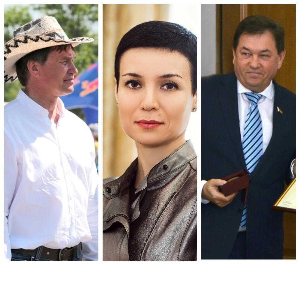 Лица власти: Сергей Суховенко, Ирина Рукавишникова, Виктор Шумеев
