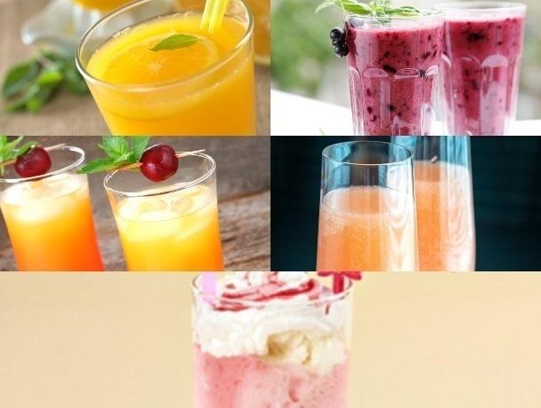 Топ-5 пять самых аппетитных новогодних коктейлей