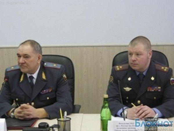 Начальник ГУ МВД по Ростовской области и его заместитель отстранены от занимаемых должностей
