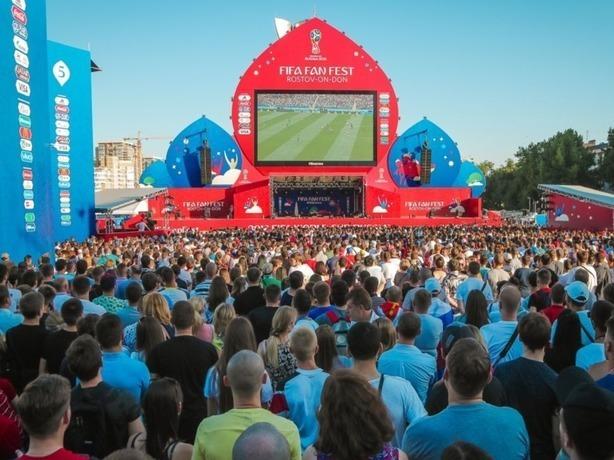За 22 дня на фестивале болельщиков в Ростове побывали почти 440 тысяч человек