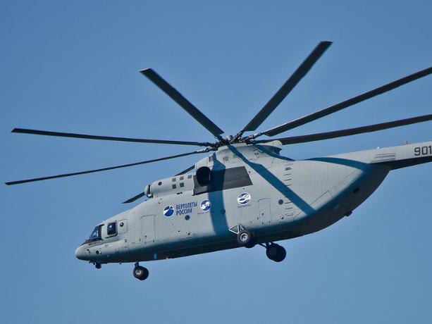 Уникальный транспортный вертолет Ми-26Т2 начали испытывать в Ростове