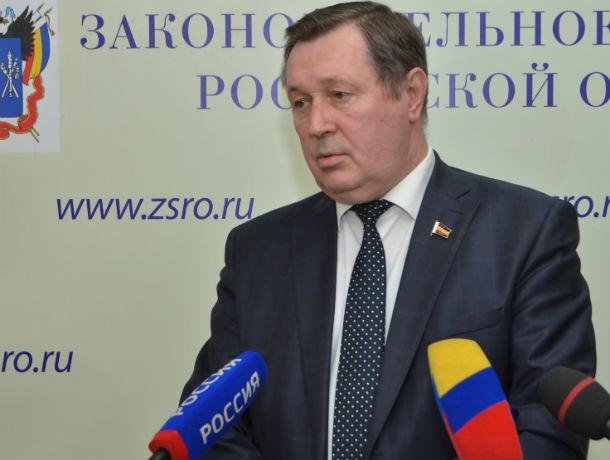 Умер депутат Законодательного собрания Ростовской области Владимир Катальников