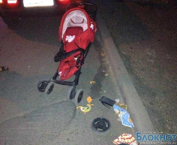 В Ростове пьяная сотрудница школы сбила бабушку с 11-месячной внучкой в коляске