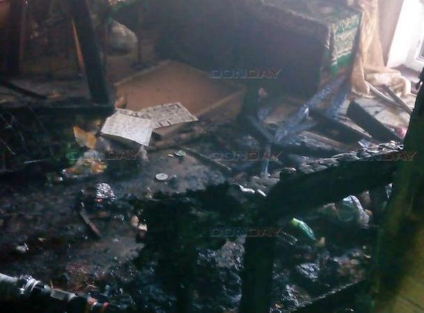Заживо горела в страшном пожаре пенсионерка в Ростовской области