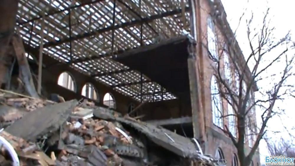 Владельцы рухнувшего в Ростове кафе попали под следствие