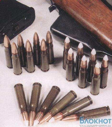 В отделе полиции Первомайского района Ростова незаконно хранились боеприпасы