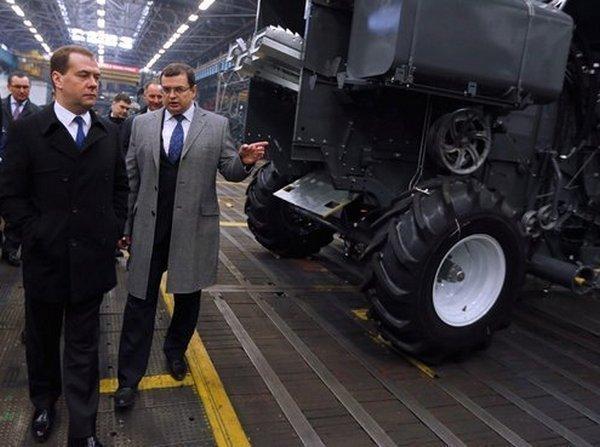 Дмитрий Медведев посетил Ростов-на-Дону с рабочим визитом