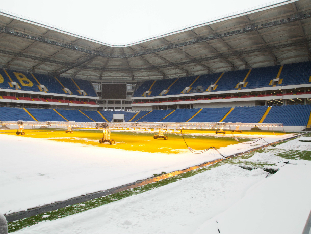 Более 56 миллионов рублей потратят на охрану стадиона «Ростов-Арена»
