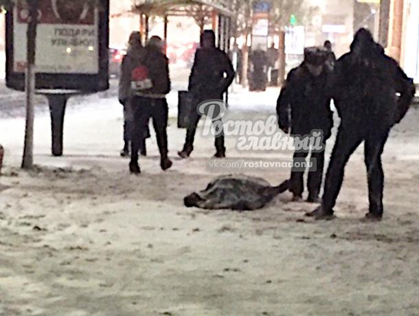 Студент сорвался с крыши в центре донской столицы