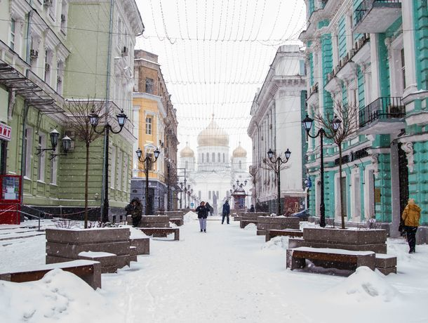 Небольшой минус и редкий снег: какая погода ждет ростовчан в субботу