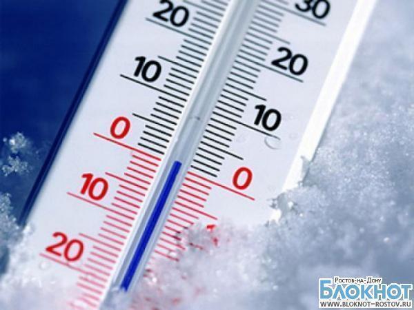В Ростовской области ожидаются заморозки до –2ºС