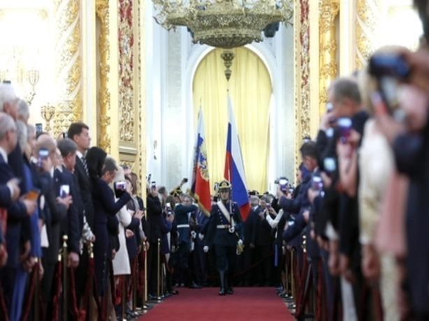 В церемонии инаугурации Президента РФ Владимира Путина принял участие губернатор Ростовской области