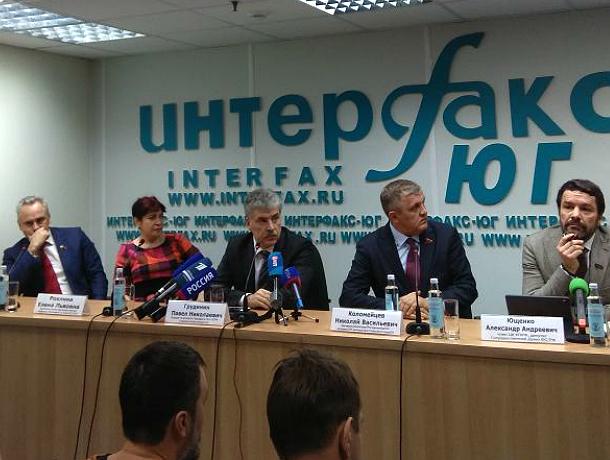 Грудинин в Ростове поддержал возвращение принудительного лечения от алкоголизма