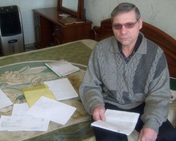 В Ростовской области пенсионер-инвалид объявил голодовку, отказавшись платить за электричество МОП